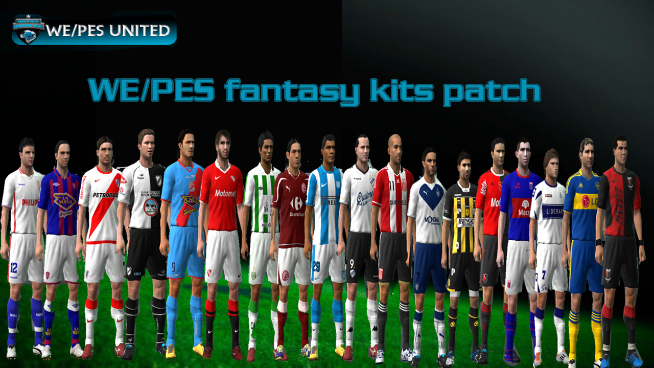 Foros De PeSoccerWorld.com • WePes Fantasy Kits Patch V1.0