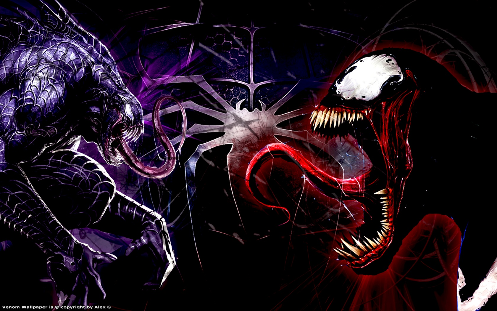 Wallpaper HD (Spiderman, Venom, Carnage)