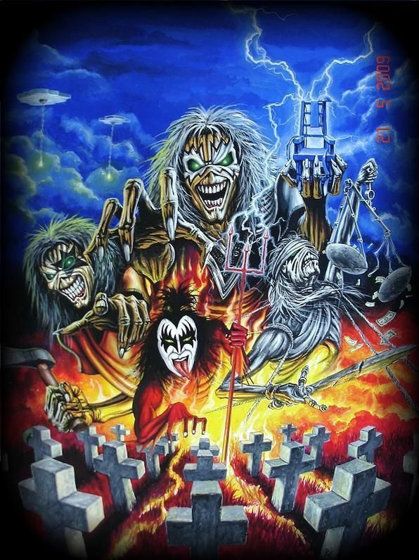 Iron Maiden - Somewhere In Time / Single Collection 3