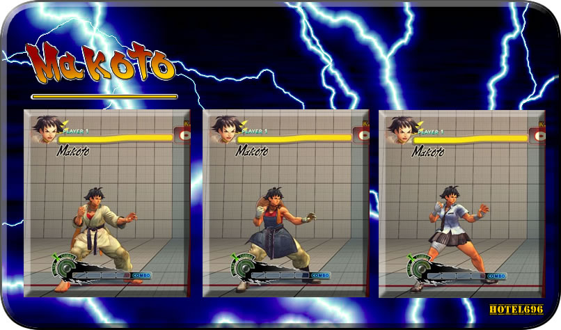 [M.S]Super Street Figther IV AE Costume Changer & Unlock
